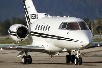 N258MS - Private Hawker Beechcraft 800XP