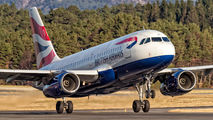 G-EUPP - British Airways Airbus A319 aircraft