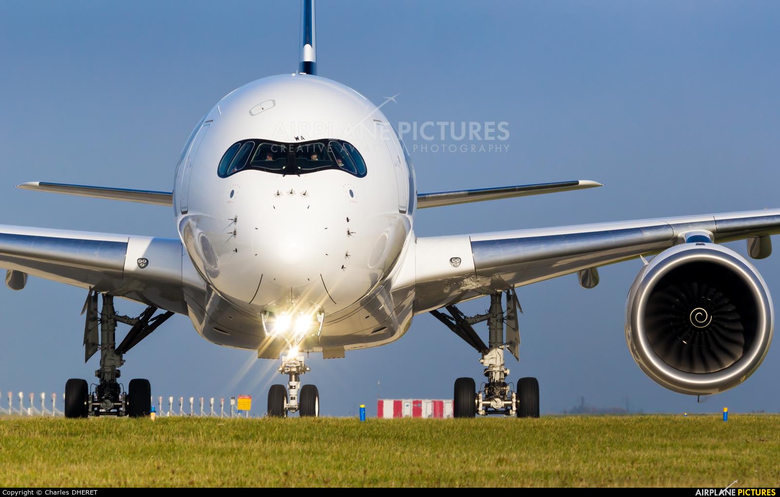Finnair OH-LWA aircraft at Paris - Charles de Gaulle