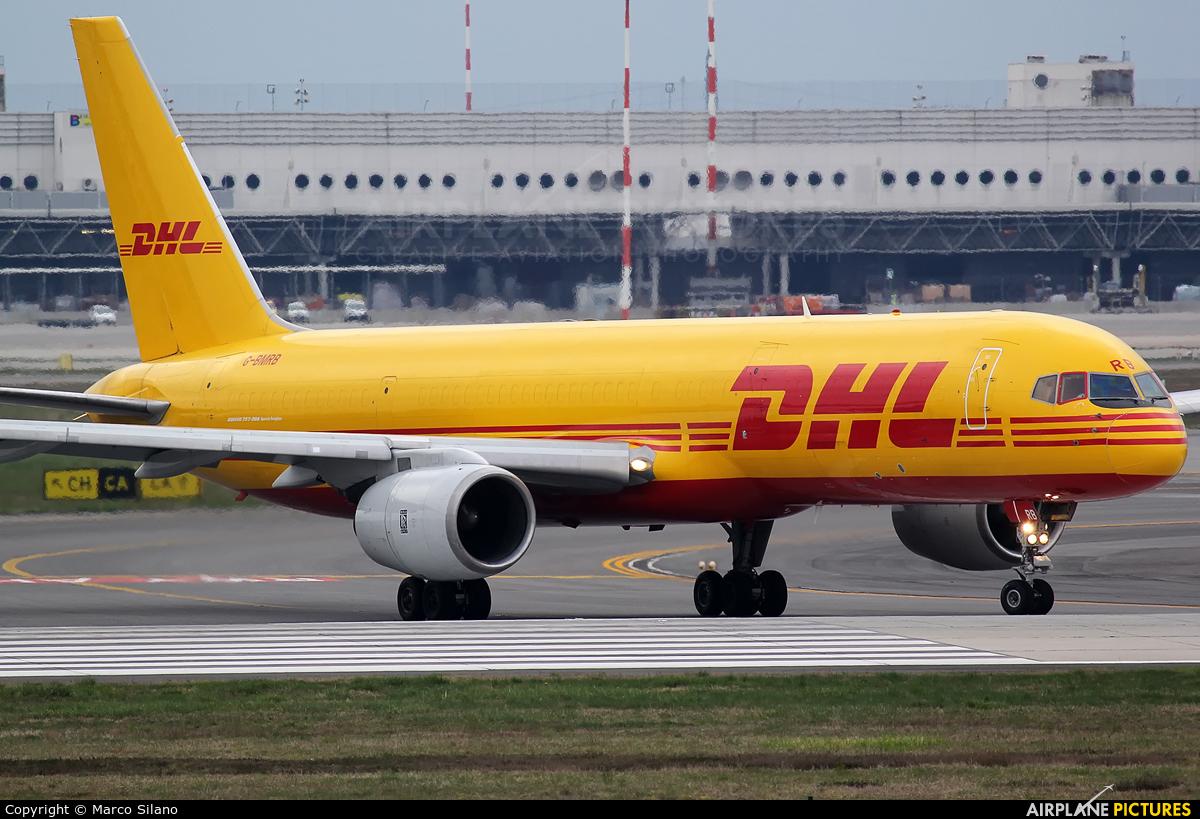 DHL Cargo G-BMRB aircraft at Milan - Malpensa