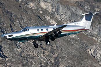 HB-FVA - Private Pilatus PC-12