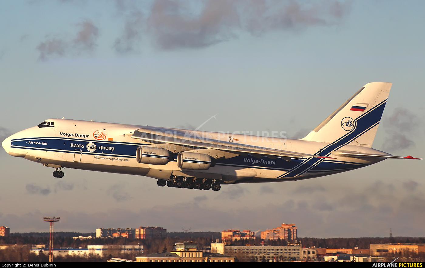 Volga Dnepr Airlines RA-82043 aircraft at Moscow - Sheremetyevo