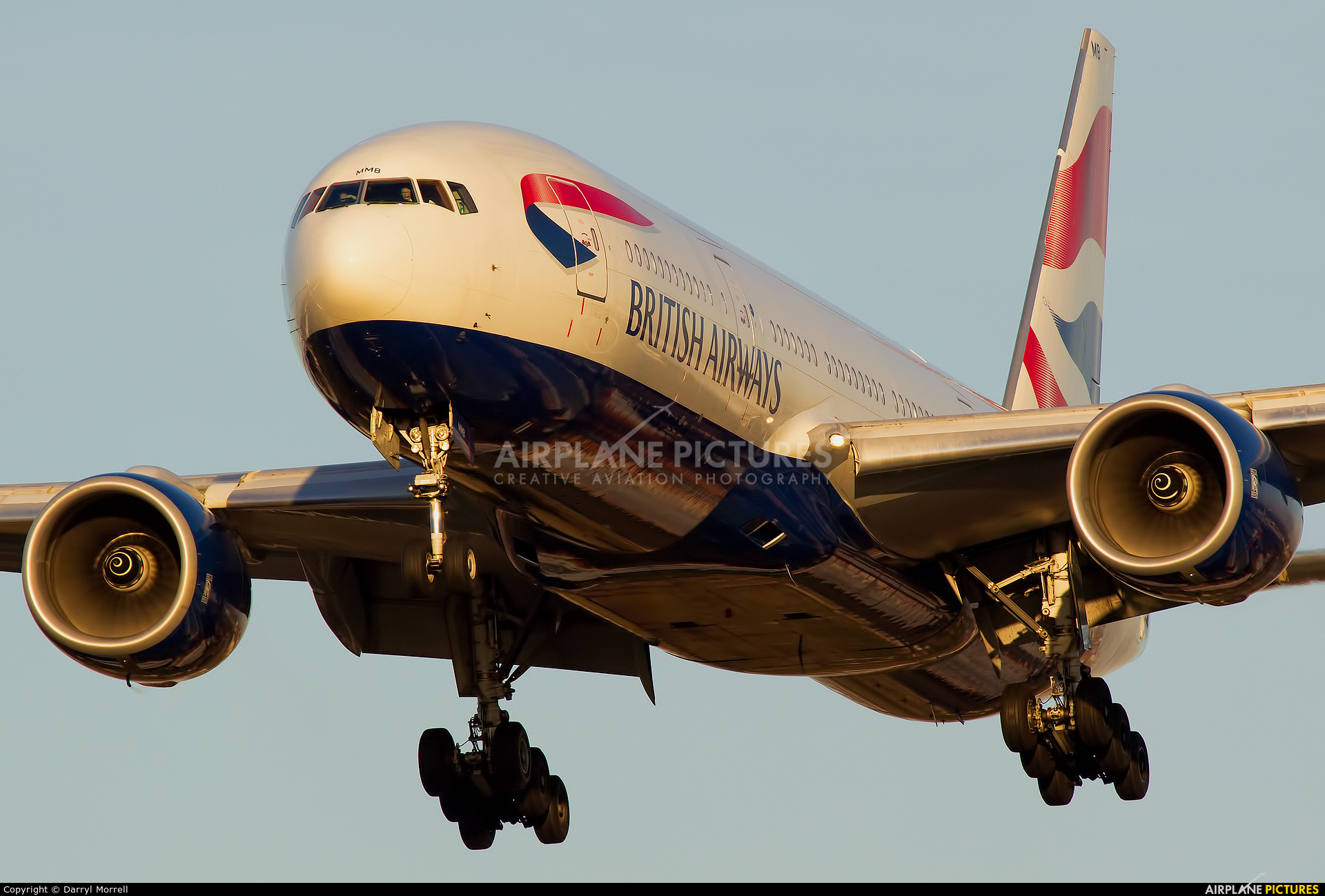 British Airways G-YMMB aircraft at London - Heathrow