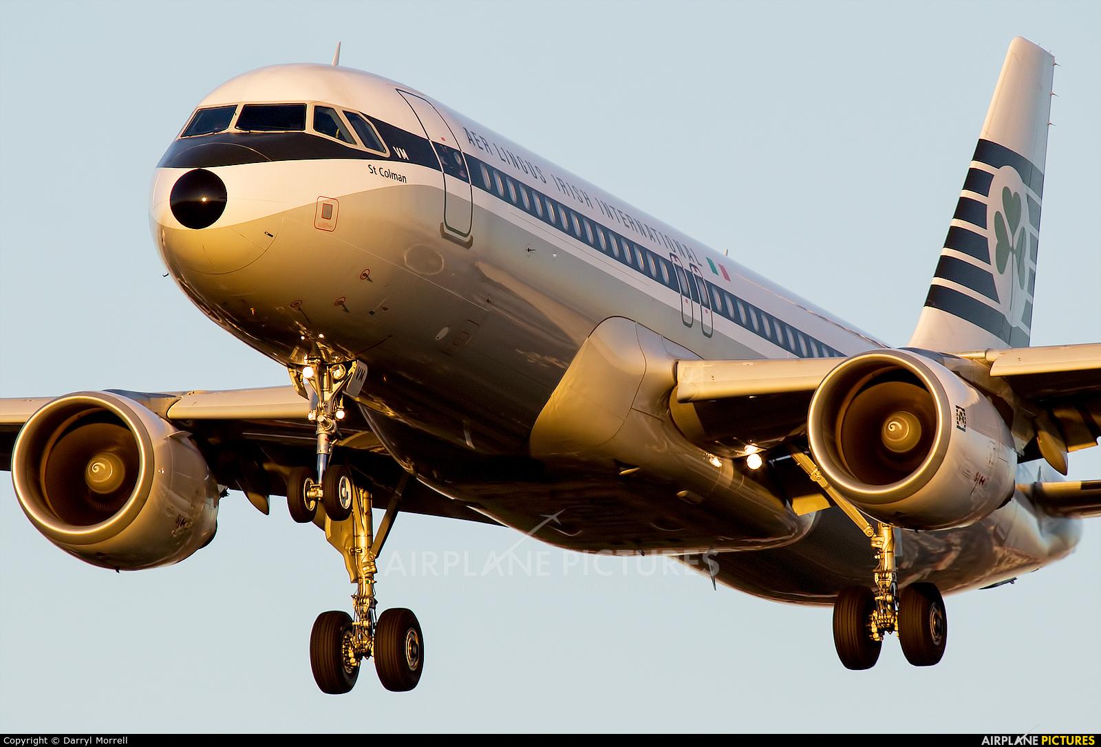 Aer Lingus EI-DVM aircraft at London - Heathrow