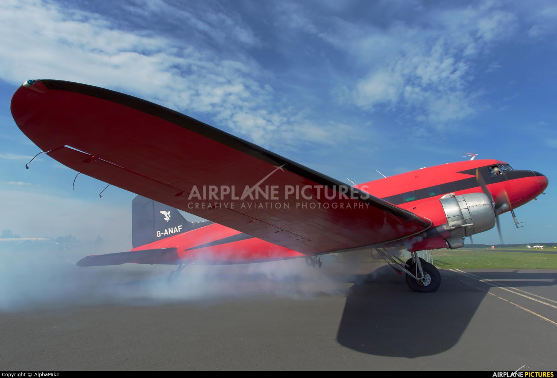 Air Atlantique G-ANAF aircraft at Coventry