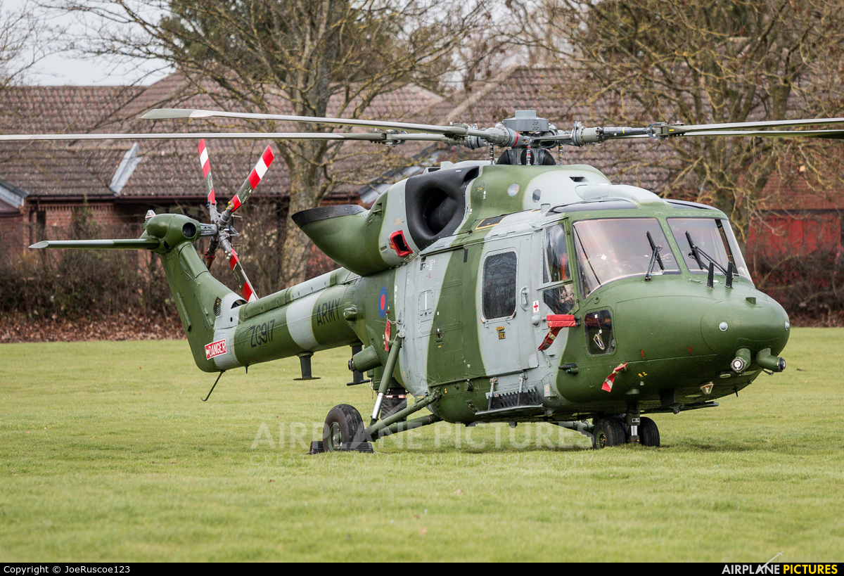 British Army ZG917 aircraft at Off Airport - England
