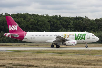 LZ-MDR - Air Via Airbus A320