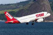 PR-MBV - TAM Airbus A319 aircraft