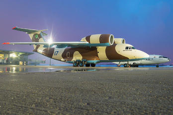 17 BLUE - Turkmenistan - Air Force Antonov An-74