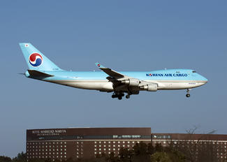 HL7448 - Korean Air Cargo Boeing 747-400F, ERF