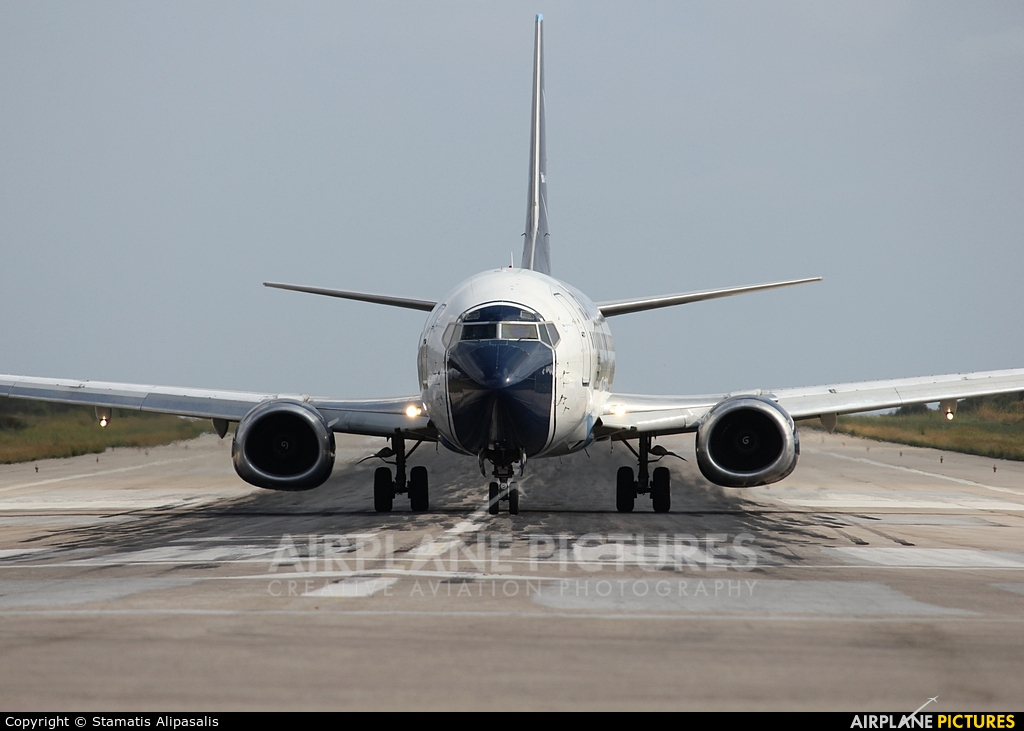Blu Express I-BPAI aircraft at Skiathos