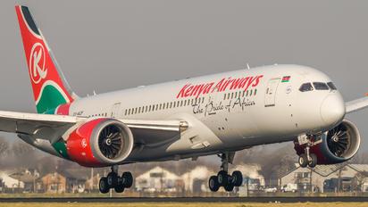 5Y-KZF - Kenya Airways Boeing 787-8 Dreamliner