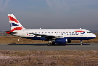 G-EUOF - British Airways Airbus A319