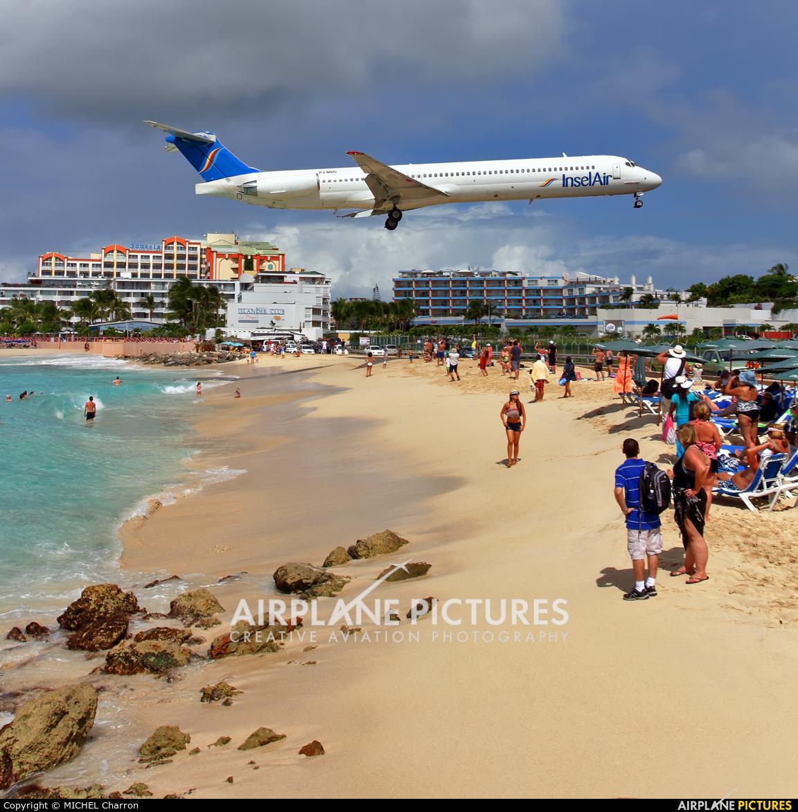 Insel Air PJ-MDC aircraft at Sint Maarten - Princess Juliana Intl