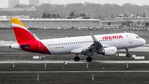 EC-LVD - Iberia Airbus A320 aircraft