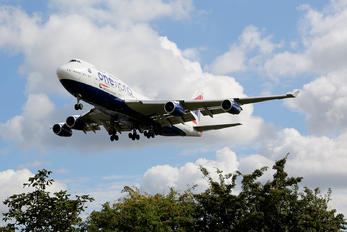 G-CIVC - British Airways Boeing 747-400