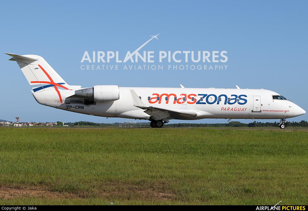 Amaszonas ZP-CRN aircraft at Florianópolis - Hercílio Luz Intl