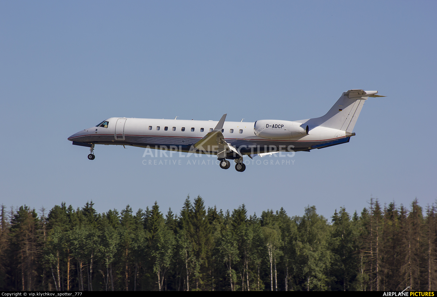 Baden Aircraft Operations D-ADCP aircraft at Moscow - Vnukovo