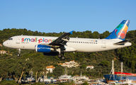 LY-SPA - Small Planet Airlines Airbus A320 aircraft