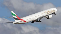 A6-EBH - Emirates Airlines Boeing 777-300ER aircraft