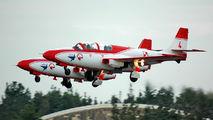 4 - Poland - Air Force: White & Red Iskras PZL TS-11 Iskra aircraft