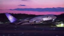 HS-TUE - Thai Airways Airbus A380 aircraft