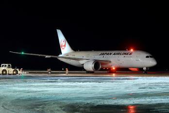 JA833J - JAL - Japan Airlines Boeing 787-8 Dreamliner