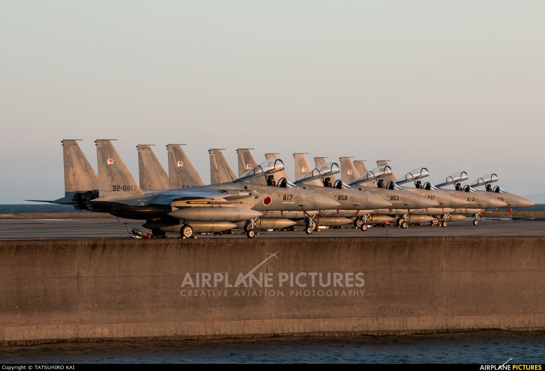 Japan - Air Self Defence Force 32-8817 aircraft at Tsuiki AB