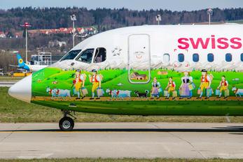 HB-IYS - Swiss British Aerospace BAe 146-300/Avro RJ100