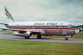 G-AXNB - Britannia Airways Boeing 737-200