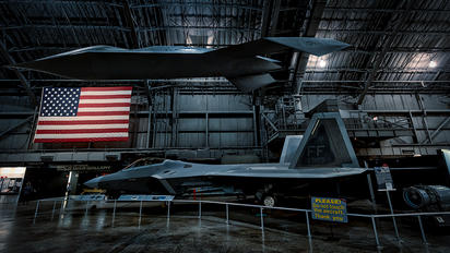 91-003 - National Museum of the USAF Lockheed Martin F-22A Raptor