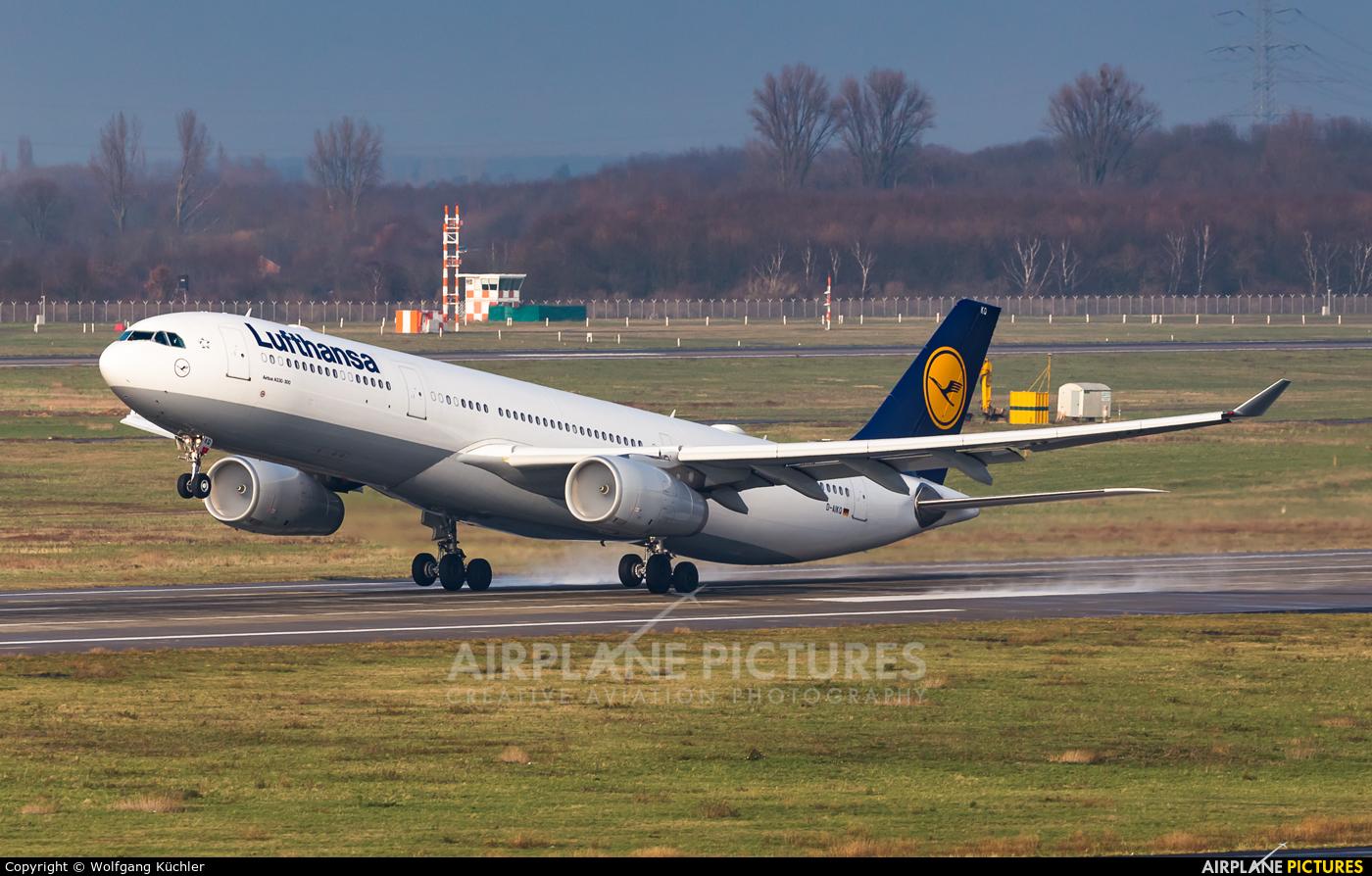 Lufthansa D-AIKQ aircraft at Düsseldorf