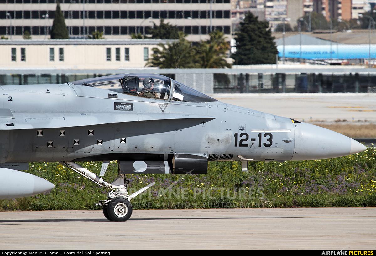 Spain - Air Force C.15-55 aircraft at Málaga