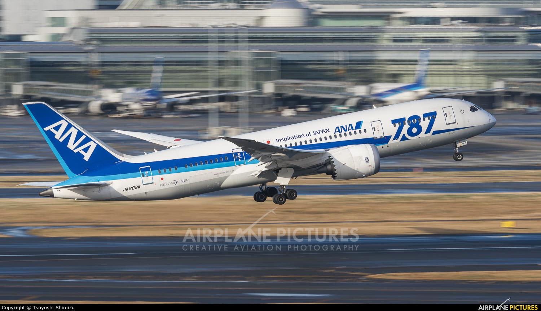 ANA - All Nippon Airways JA809A aircraft at Tokyo - Haneda Intl