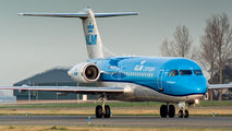 PH-KZB - KLM Cityhopper Fokker 70 aircraft
