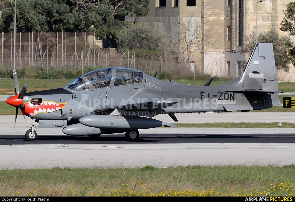Indonesia - Air Force PT-ZON aircraft at Malta Intl