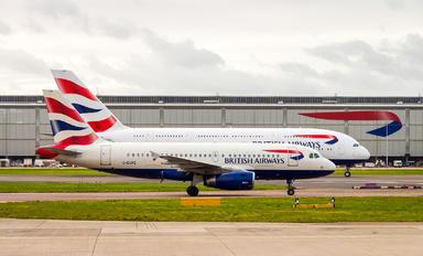G-EUPZ - British Airways Airbus A319