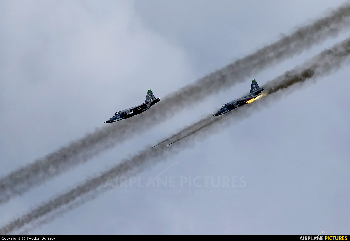 Russia - Air Force 11 aircraft at Dubrovichi Air Range