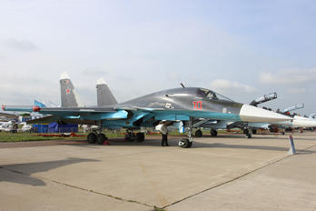 10 RED - Russia - Air Force Sukhoi Su-34