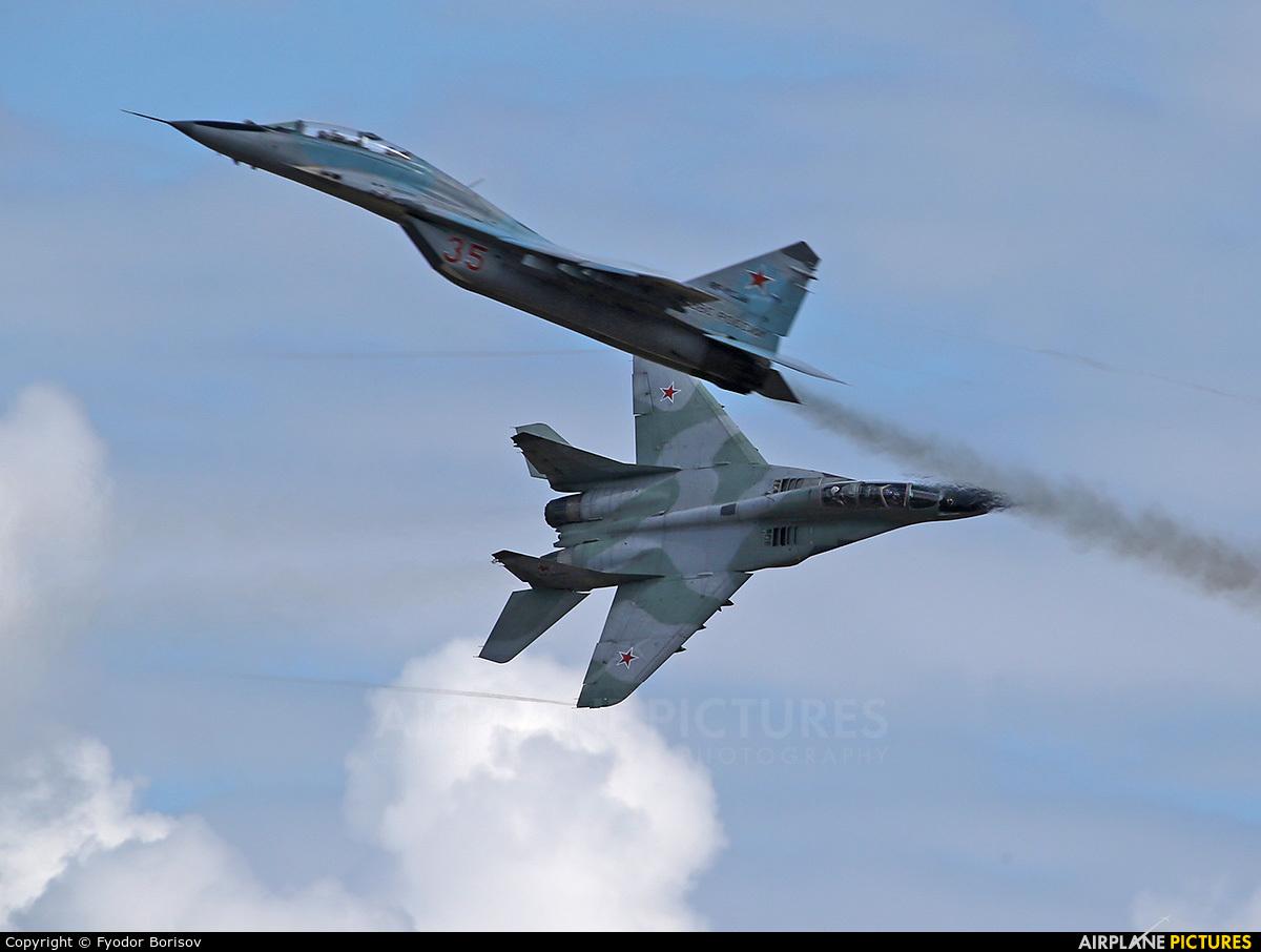 Russia - Air Force 35 aircraft at Dubrovichi Air Range