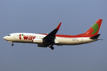 HL8047 - T'Way Air Boeing 737-800