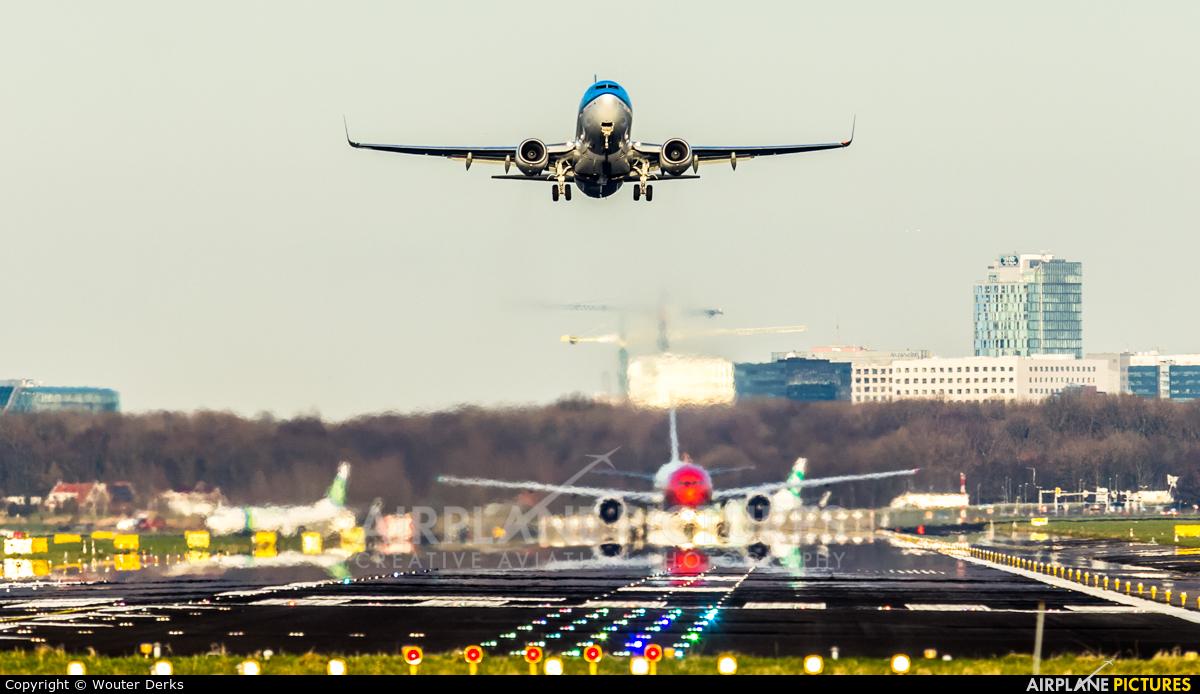 KLM PH-BGO aircraft at Amsterdam - Schiphol