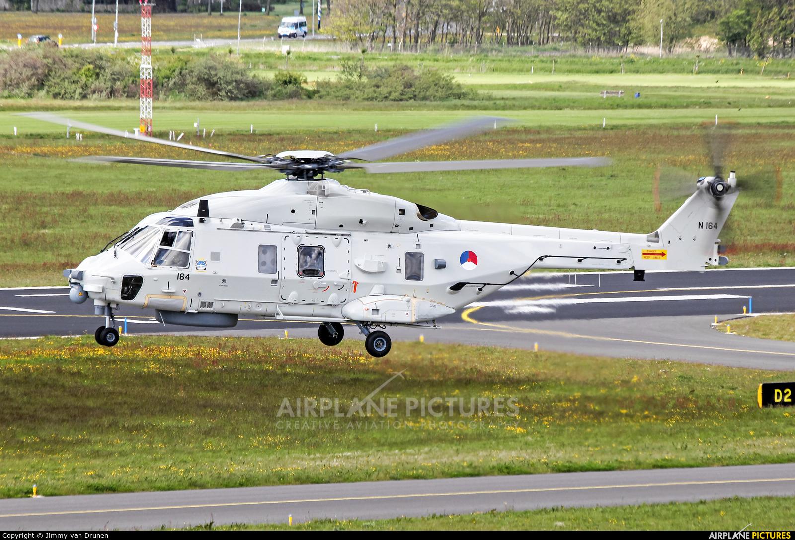 Netherlands - Navy N-164 aircraft at Den Helder