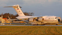 Kuwait Air Force C-17A Globemaster III at Prestwick title=