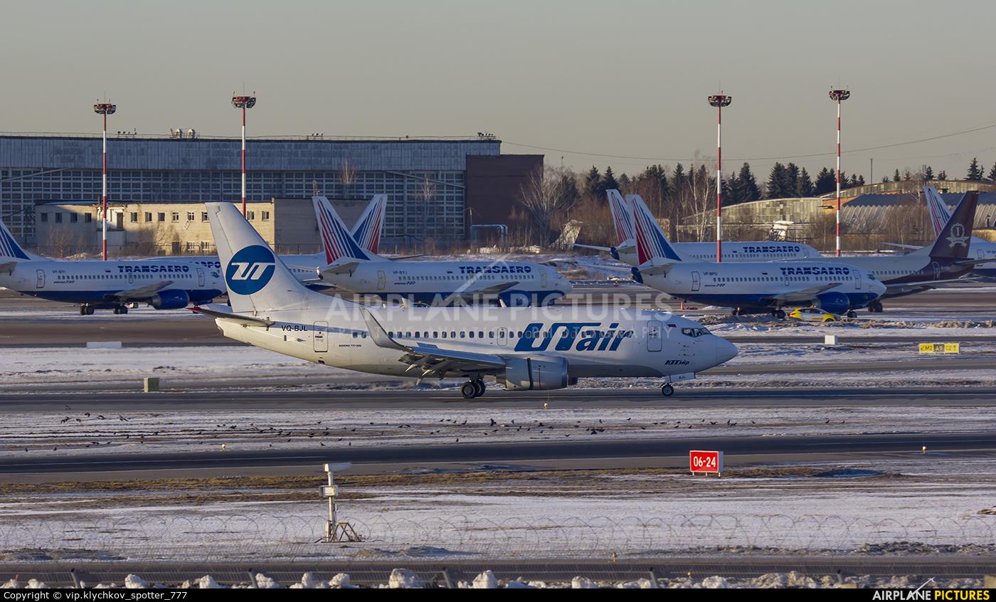 UTair VQ-BJL aircraft at Moscow - Vnukovo
