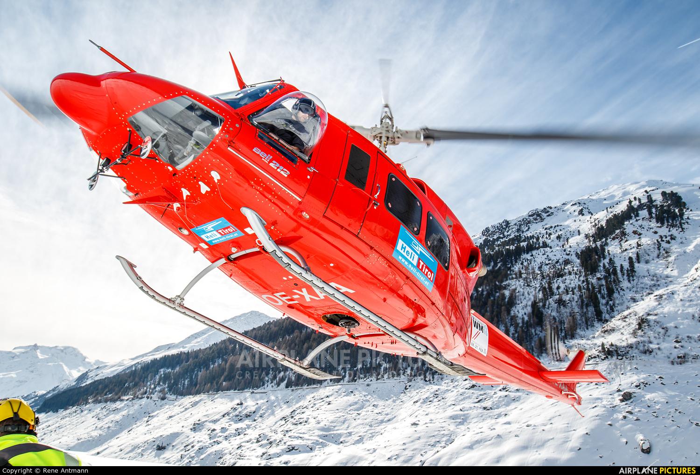 Heli Tirol OE-XAA aircraft at Off Airport - Austria