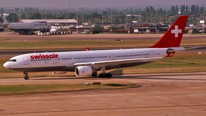 HB-IQC - Swissair Airbus A330-200