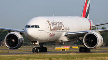 A6-EFF - Emirates Sky Cargo Boeing 777F aircraft