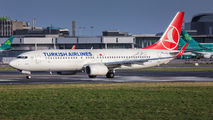 TC-JVG - Turkish Airlines Boeing 737-800 aircraft