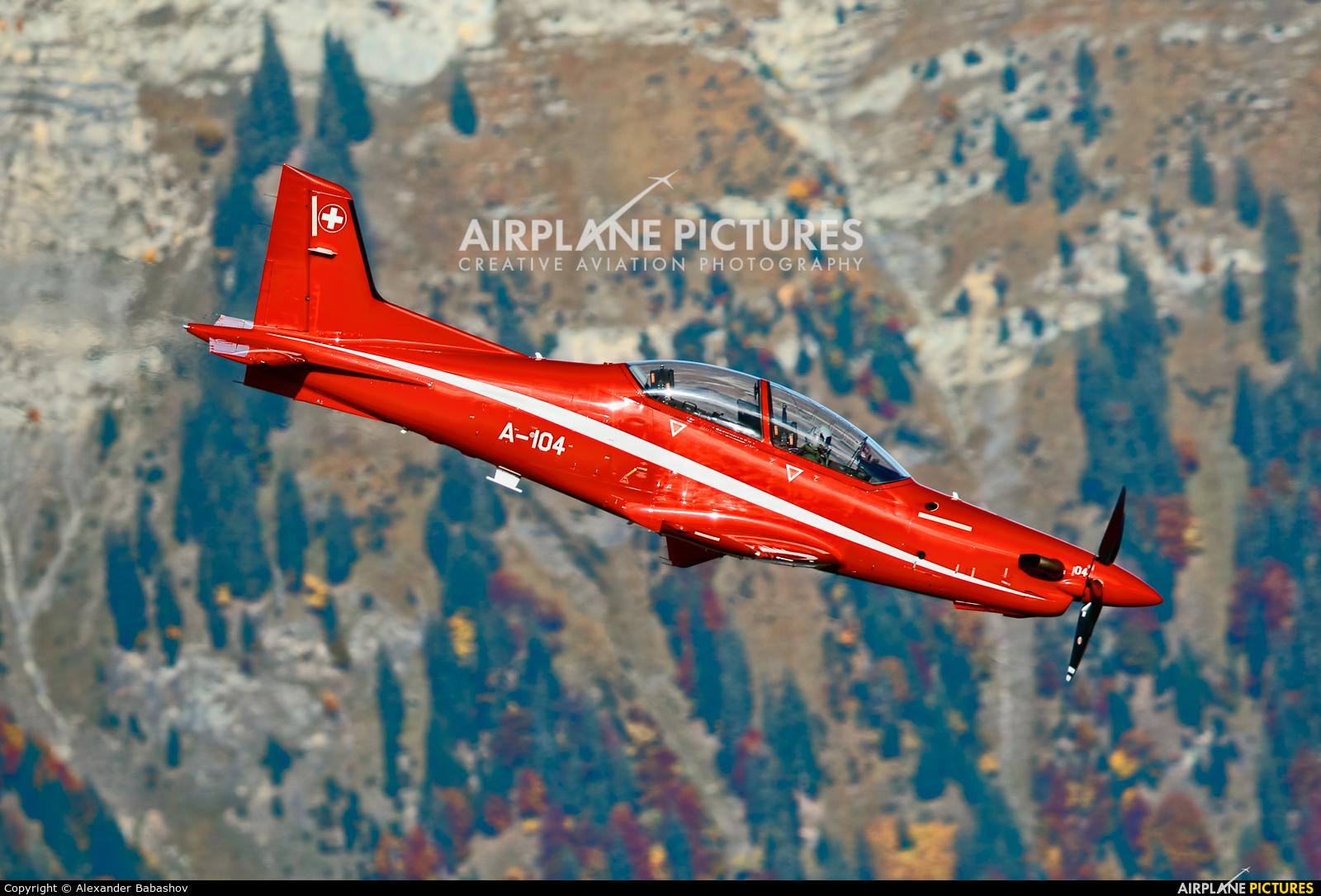 Switzerland - Air Force Pilatus PC-21 A-104